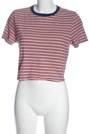 Cooperative Camicia cropped stampa integrale stile casual