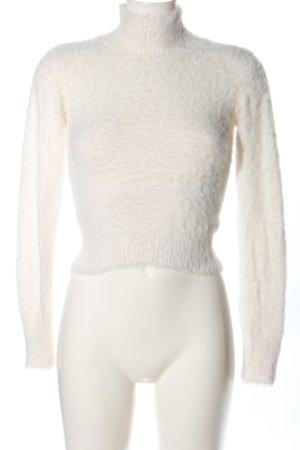 Cooperative T-shirt court blanc cassé style décontracté