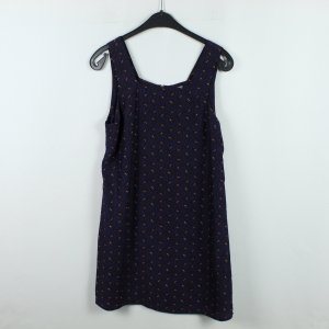 COOPERATIVE Kleid Gr. M blau gemustert (20/01/053*)