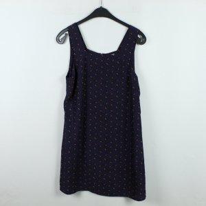COOPERATIVE Kleid Gr. M blau rot gemustert (20/01/053)