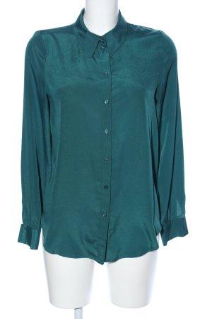 Cooperative Langarm-Bluse grün Casual-Look