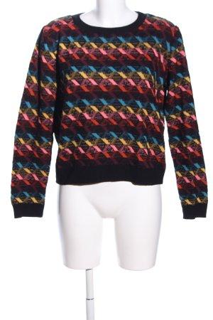 Cooperative Crewneck Sweater allover print casual look