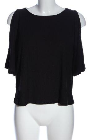 Cooperative Camicia maglia nero stile casual