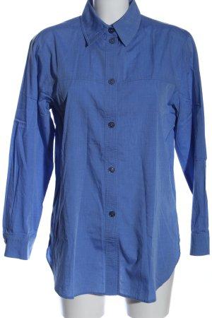 Coordinate Langarmhemd blau Business-Look