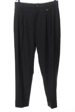 Cop Copine Pantalone da abito nero stile professionale