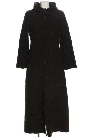 Cop Copine Długi płaszcz jasnoszary Melanżowy W stylu casual