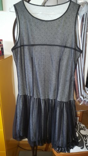 Cop Copine Kleid schwarz Netz Tüll Gr.40 (Fr42) *wie neu*