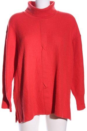 Copelli Turtleneck Sweater red casual look