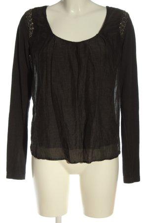 Copenhagen Luxe Long Sleeve Blouse black elegant