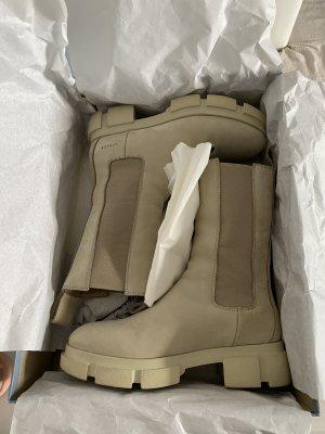 Copenhagen Studios Chelsea Boots oatmeal-cream