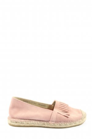 copo de nieve Espadrille Sandals pink-cream casual look