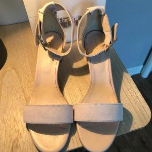 ODEON T-Strap Sandals pink