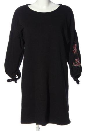 copo de nieve Sukienka dresowa czarny-różowy W stylu casual