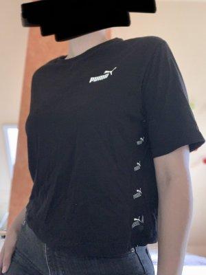 Puma Camicia cropped nero-bianco