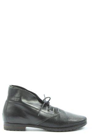 Coqueterra Zapatos brogue negro look casual