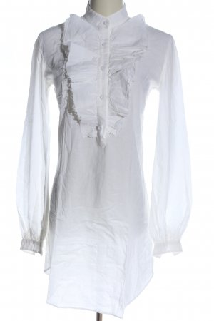 Cora de Adamich Long-Bluse weiß Elegant
