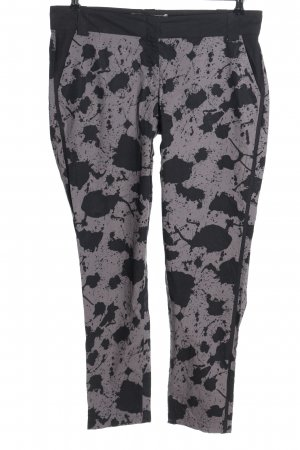 Corakempermann Chinos white-black abstract pattern casual look