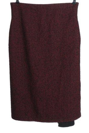 Corakempermann Midi Skirt red-black business style