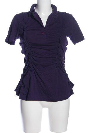 Corakempermann Polo Shirt lilac casual look
