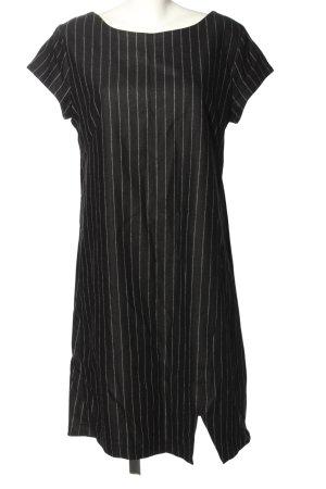 Corakempermann Wełniana sukienka czarny-biały Na całej powierzchni