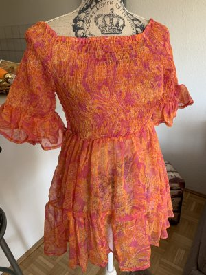 Antica Sartoria Transparent Blouse multicolored polyester