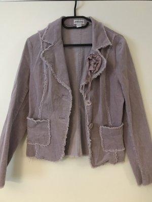 Melrose Jersey Blazer mauve-lilac cotton
