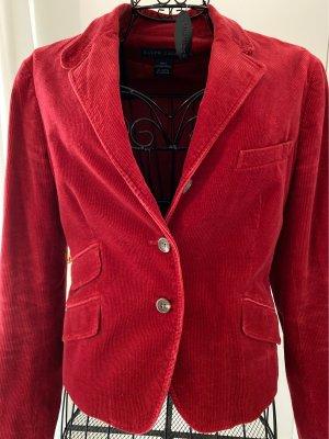 Ralph Lauren Klassischer Blazer rouge carmin