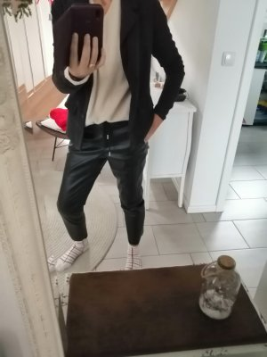 BlendShe Veste en velours côtelé noir