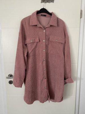 Cord Hemd in Rosa von SHEIN