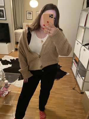 Zara Pantalon fuselé noir