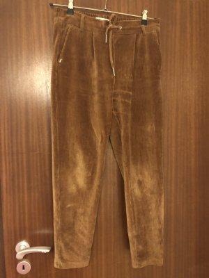 Only Corduroy Trousers brown-dark orange