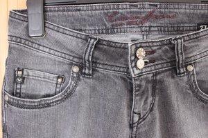 Cordon Straight Leg Jeans grey cotton