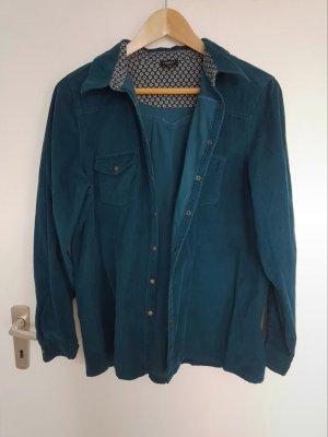 Bexley's Woman Shirt met lange mouwen petrol-cadet blauw