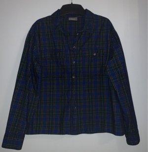 Yessica Camisa de franela multicolor