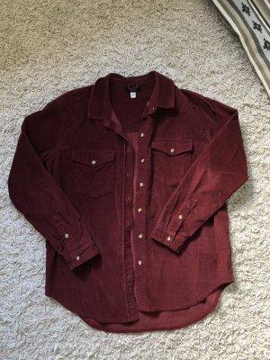BGD Urban Outfitters Chemise à manches longues bordeau