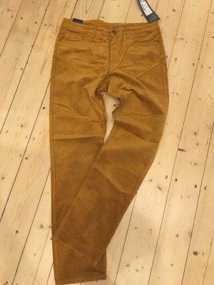 C&A Yessica Corduroy broek beige-licht Oranje Katoen