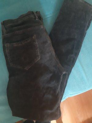 Object Pantalone di velluto a coste antracite