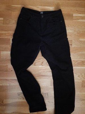 Urban Outfitters Corduroy broek zwart Katoen