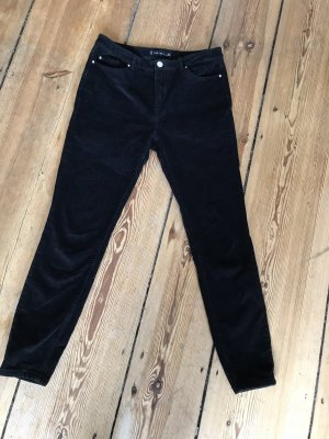 Amisu Corduroy Trousers black