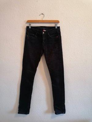 H&M Divided Corduroy Trousers dark blue