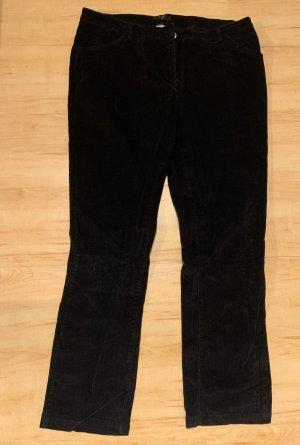 bpc Pantalon en velours côtelé noir