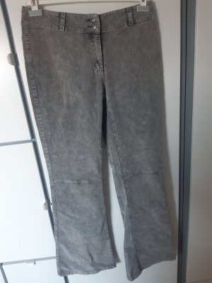 Lily Allen x Vero Moda Corduroy Trousers grey cotton