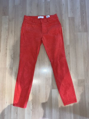 Tom Tailor Corduroy Trousers red