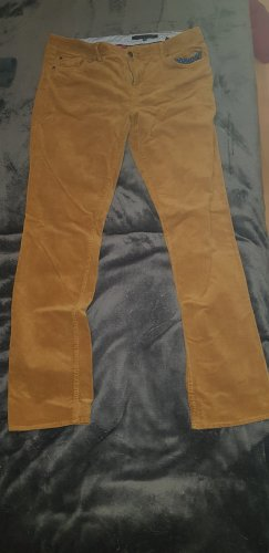Tommy Hilfiger Pantalon en velours côtelé brun sable
