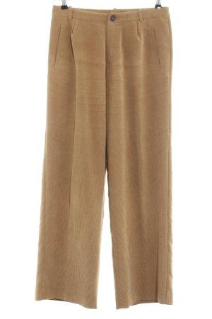 Pantalón de pana marrón estilo «business»