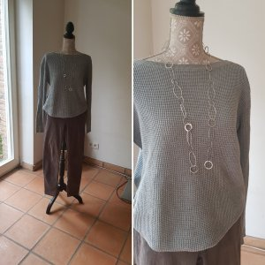 Burberry Brit Pantalone di velluto a coste grigio chiaro-beige