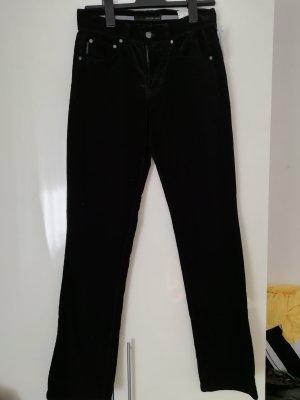 Calvin Klein Jeans Spodnie sztruksowe czarny