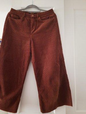 C&A Clockhouse Pantalon en velours côtelé multicolore coton
