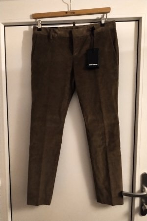 Dsquared2 Jersey Pants bronze-colored-brown