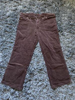 Gina Benotti Pantalon en velours côtelé brun